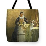 The Lace Maker  Tote Bag