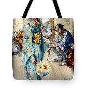 The Lady And Sada San Tote Bag