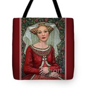 The Lady Mae   Bas Relief Miniature Tote Bag