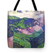 The Lady Of Isenfluh Tote Bag
