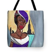 The Lady Of The City Tote Bag