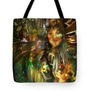 The Lady Of The Lake Tote Bag by Kenneth Hadlock