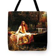 The Lady Of The Shalot Tote Bag by Pg Reproductions