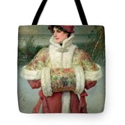 The Lady Of The Snows Tote Bag