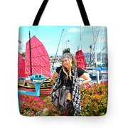 The Lady Pirate Tote Bag