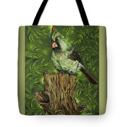 The Lady Waits Tote Bag