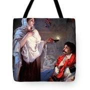 The Lady With The Lamp, Florence Tote Bag by Science Source