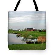 The Lake At Barton Marina Tote Bag