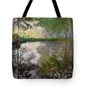 The Lake At Montgeron Tote Bag