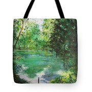 The Lake At Stansted Unfinished Tote Bag