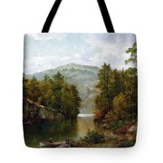 The Lake George Tote Bag by David Johnson