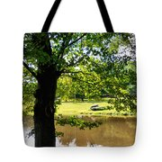 The Lake In The Park Tote Bag