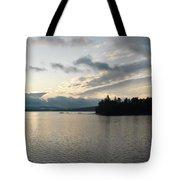 The Lake Of Two Rivers At Dawn Tote Bag