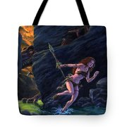 The Land That Time Forgot Tote Bag