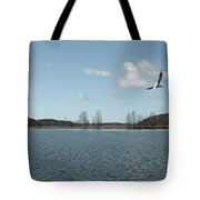 The Landscape Along The Finnish Coast Tote Bag