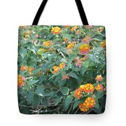 The Lantana In The Near 20 Tote Bag