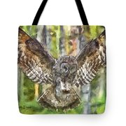 The Largest Owl Tote Bag