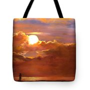 The Last Cast Tote Bag