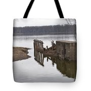 The Last Concrete Wall Tote Bag