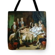 The Last Hours Of Mozart 1756-91 Henry Nelson Oneil Tote Bag