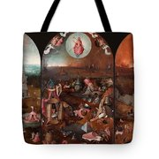The Last Judgement Hieronymus Bosch Tote Bag