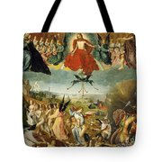 The Last Judgement Tote Bag by Jan II Provost