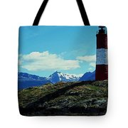 The Last Lighthouse ... Tote Bag