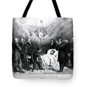 The Last Moments Of President Lincoln Tote Bag by Photo Researchers