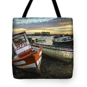The Last Of A Dying Breed Trocadero Pipe Cadiz Spain Tote Bag