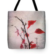 The Last Of Autumn Tote Bag by Elaine Teague
