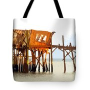 The Last Of Old Cedar Key Tote Bag