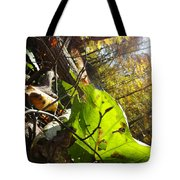 The Last Of The Green Tote Bag
