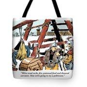 The Last Resort. Tote Bag