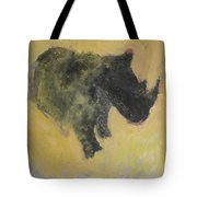 The Last Rhino Tote Bag