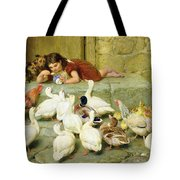 The Last Spoonful Tote Bag by Briton Riviere