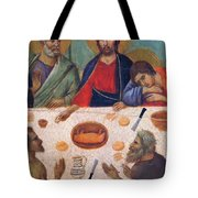The Last Supper Fragment 1311 Tote Bag