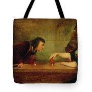 The Last Throw , Charles Robert Leslie Tote Bag