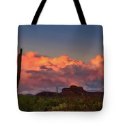 The Last Thunderstorm Tote Bag