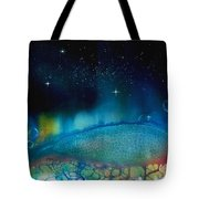 The Last Turtle From The Sea Of Cassiopeia Tote Bag
