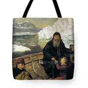 The Last Voyage Of Henry Hudson Tote Bag