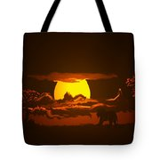 The Last Water Hole Tote Bag