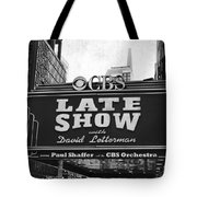 The Late Show Tote Bag