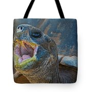 The Laughing Tortoise Tote Bag