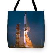 The Launch Of The Mercury Atlas Tote Bag