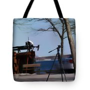 The Launch Tote Bag