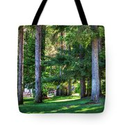 The Lawn At Hill's Resort Tote Bag