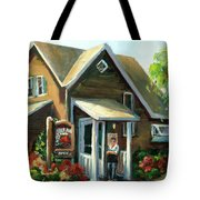 The Lazy Susan - Your Table Is Ready Tote Bag