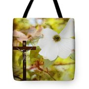 The Legend Of The Dogwood Tote Bag