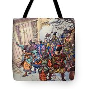 The Legend Of The Forty-seven Ronin Tote Bag
