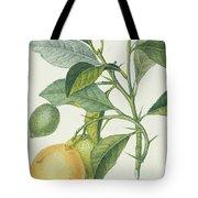 The Lemon Tree Tote Bag